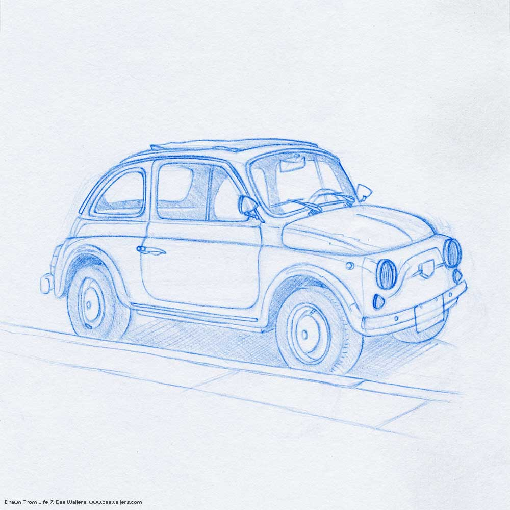Illustration_Drawn-from-Life_Fiat500_1250