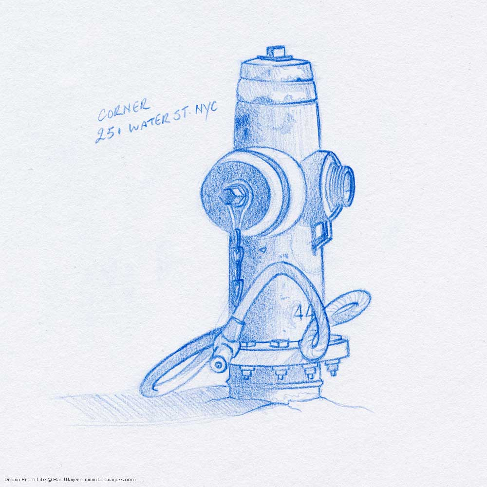 Illustration_Drawn-from-Life_Hydrant_1250