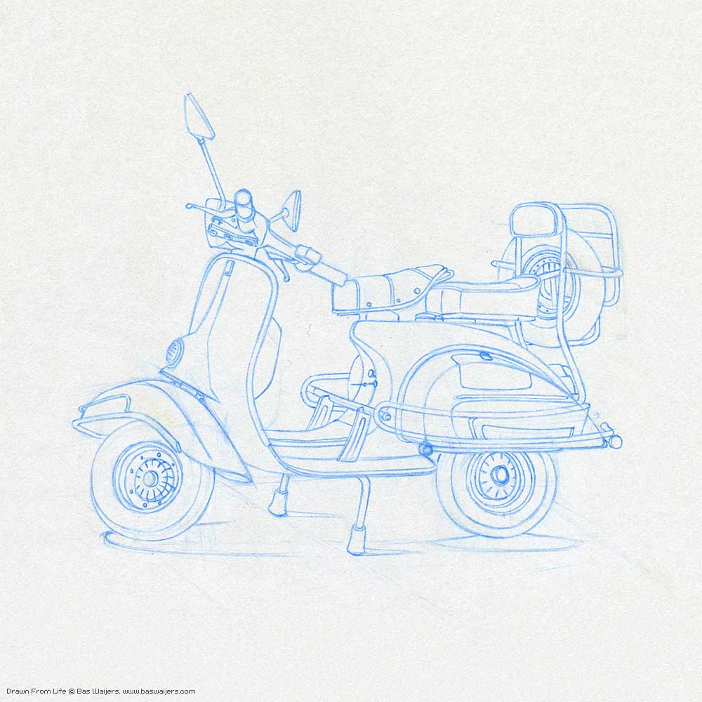 Illustration_Drawn-from-Life_Scooter_1250